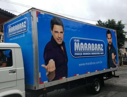 ENVELOPAMENTO DE FROTA – MARABRAZ
