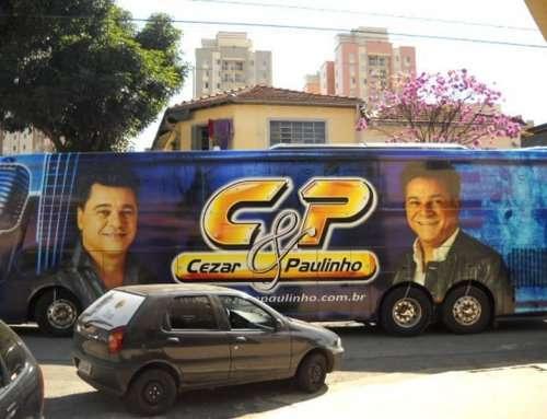 SHOW BUSSINES – ENVELOPAMENTO DE CAMINHÃO E ÔNIBUS