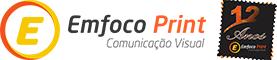 Adesivo para carro e envelopamento de frotas – Emfoco Print Logotipo